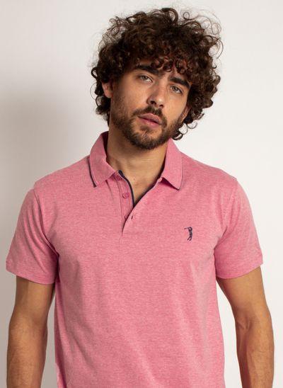 camisa-polo-aleatory-masculina-lisa-king-mescla-rosa-modelo-1-
