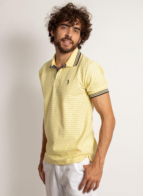 camisa-polo-aleatory-masculina-mini-print-square-amarelo-modelo-5-