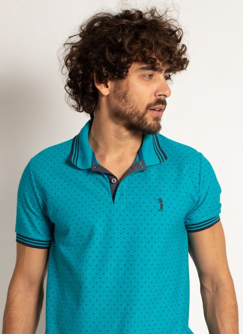 camisa-polo-aleatory-masculina-mini-print-square-azul-modelo-1-