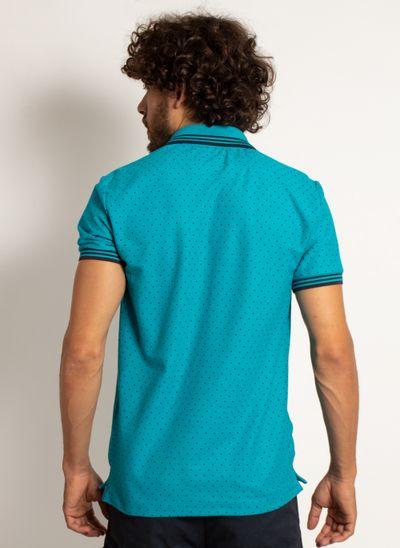 camisa-polo-aleatory-masculina-mini-print-square-azul-modelo-2-