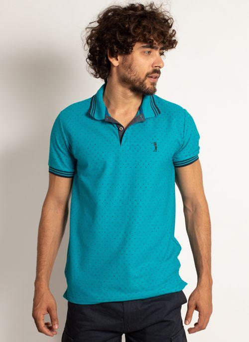camisa-polo-aleatory-masculina-mini-print-square-azul-modelo-4-