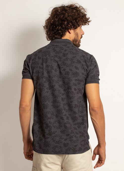 camisa-polo-aleatory-masculina-mini-print-mix-preta-modelo-2-