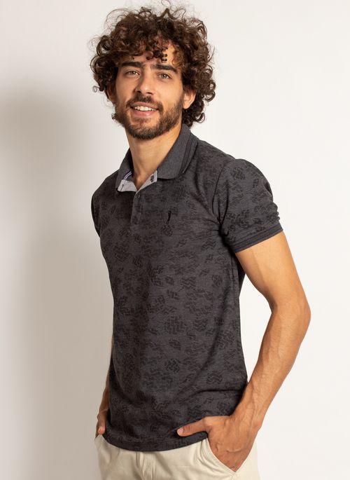 camisa-polo-aleatory-masculina-mini-print-mix-preta-modelo-4-