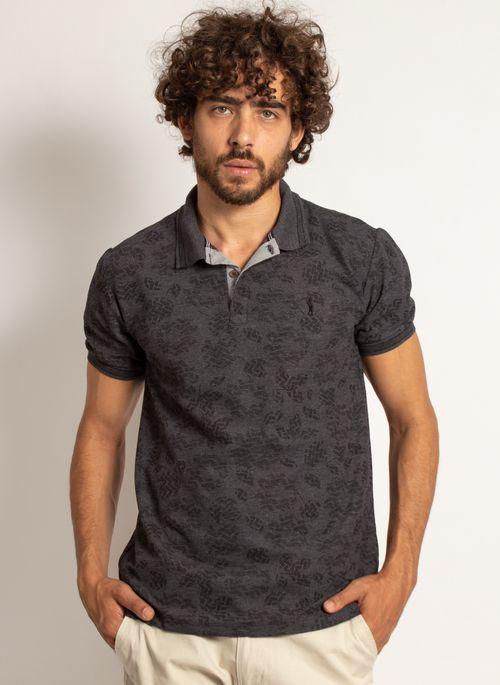 camisa-polo-aleatory-masculina-mini-print-mix-preta-modelo-5-