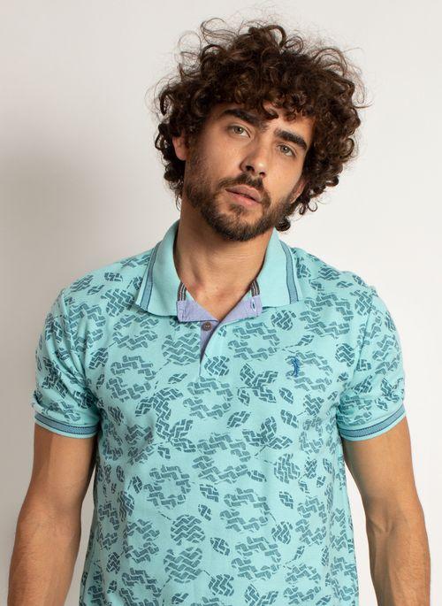 camisa-polo-aleatory-masculina-mini-print-mix-verde-modelo-1-