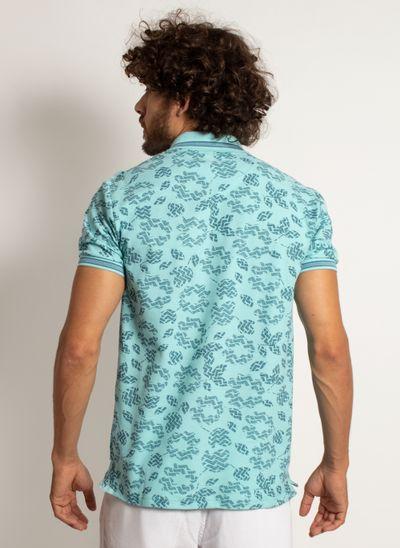 camisa-polo-aleatory-masculina-mini-print-mix-verde-modelo-2-