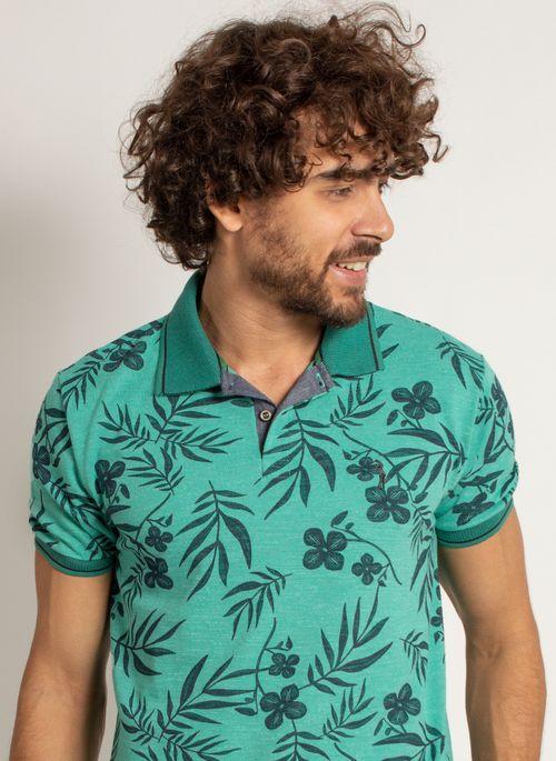 camisa-polo-aleatory-masculina-mini-print-floral-verde-modelo-1-