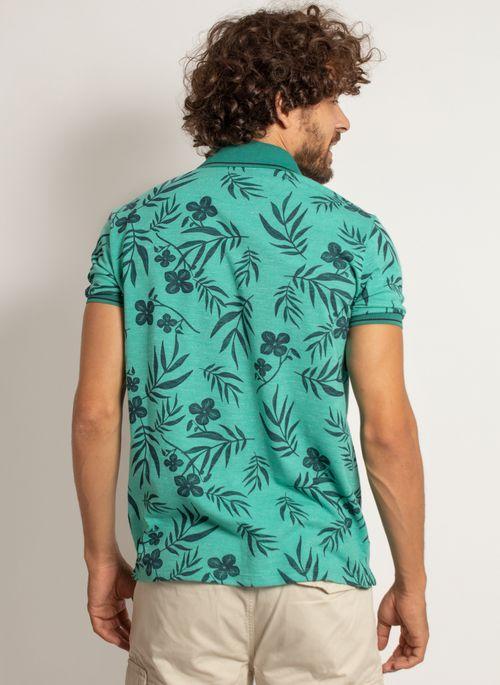 camisa-polo-aleatory-masculina-mini-print-floral-verde-modelo-2-