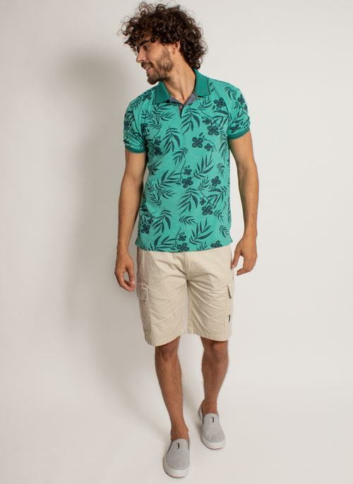 camisa-polo-aleatory-masculina-mini-print-floral-verde-modelo-3-
