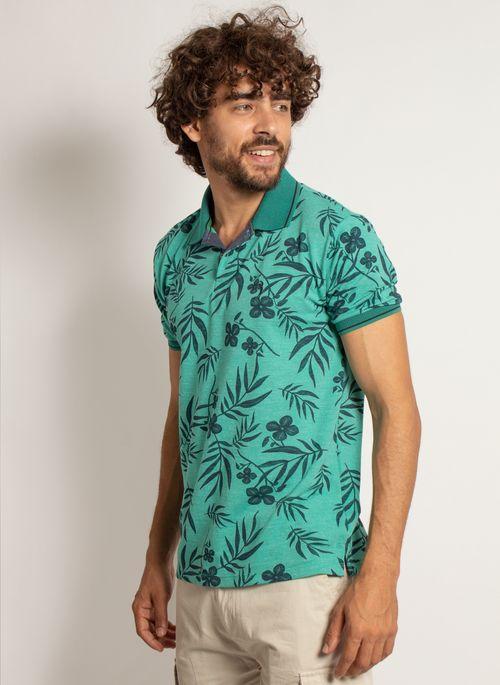 camisa-polo-aleatory-masculina-mini-print-floral-verde-modelo-4-