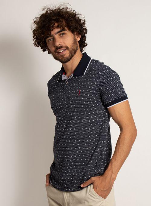 camisa-polo-aleatory-masculina-mini-print-anchor-modelo-4-
