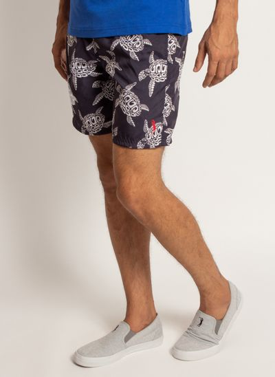 shorts-aleatory-masculino-estampada-turtle-modelo-2019-2-
