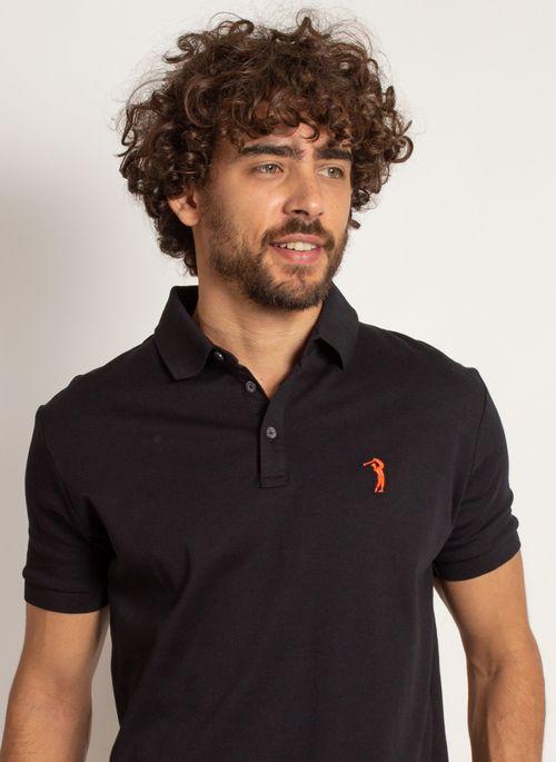 Camisa polo básica preta é versátil e neutro para trabalhar no estilo