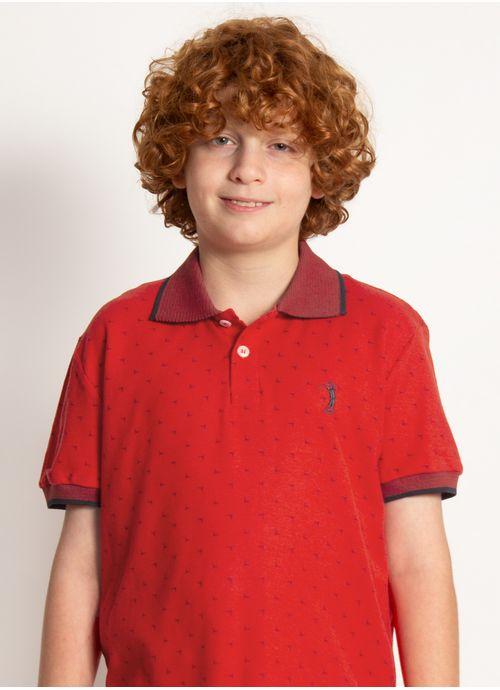 camisa-polo-aleatory-infantil-mini-print-kids-fair-laranja-modelo-2020-1-