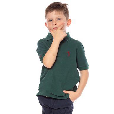 camisa-polo-aleatory-infantil-lisa-verde-modelo-4-
