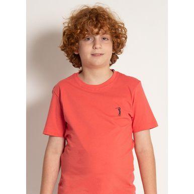 camiseta-basica-aleatory-kids-lisa-laranja-modelo-2020-1-
