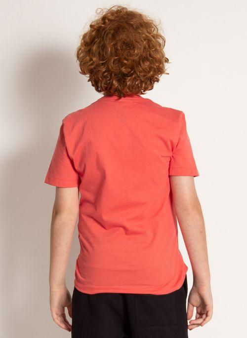 camiseta-basica-aleatory-kids-lisa-laranja-modelo-2020-2-