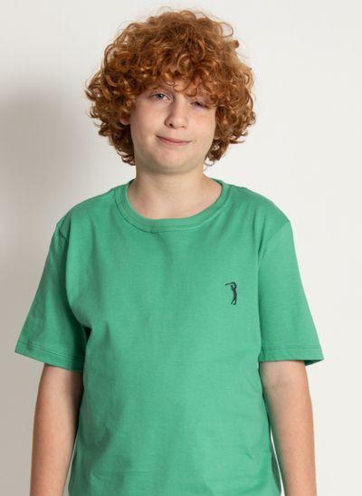 camiseta-basica-aleatory-kids-lisa-verde-modelo-2020-1-