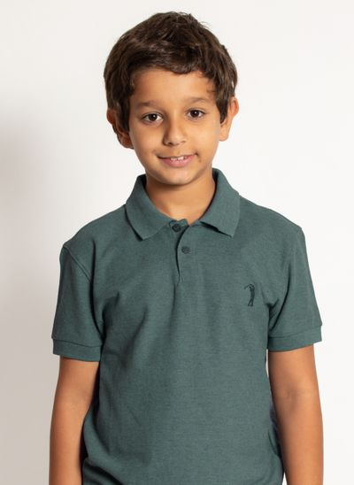 camisa-polo-aleatory-infantil-basica-new-light-verde-mescla-modelo-2020-1-