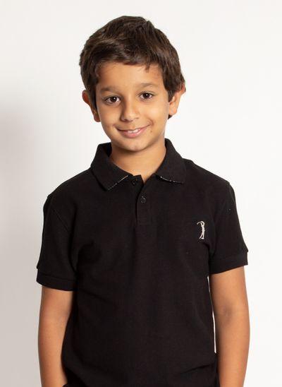 camisa-polo-aleatory-infantil-basica-new-light-preta-modelo-2020-1-