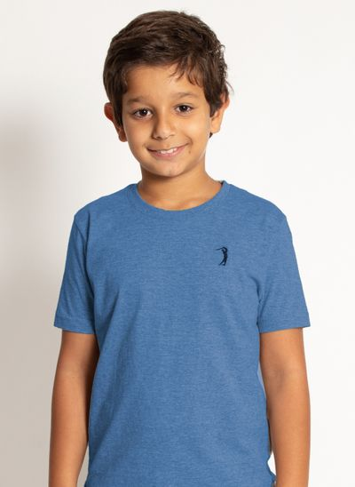 camiseta-aleatory-infantil-lisa-azul-mescla-azul-modelo-2020-1-