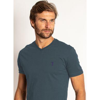 camiseta-aleatory-masculino-basica-gola-v-azul-modelo-2020-1-