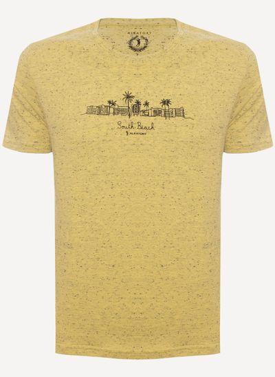 camiseta-aleatory-masculina-estampada-beach-amarela-still-1-