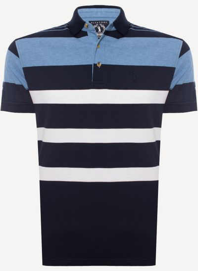 Camisa-Polo-Aleatory-Listrada-New-5000-134-485-azul-marinho