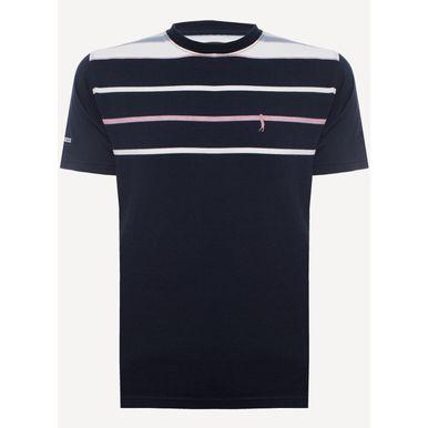 Camiseta-Aleatory-Listrada-Lucky-6000-134-491-Azul-marinho