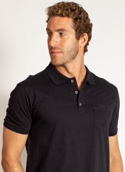 camisa-polo-aleatory-masculina-malha-lisa-com-bolso-preto-modelo-2020-1-