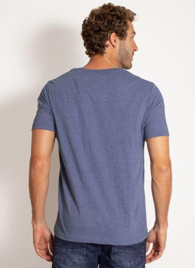 camiseta-aleatory-masculina-lisa-reativa-mescla-azul-modelo-2-