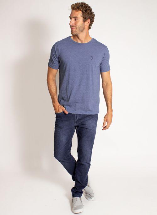 camiseta-aleatory-masculina-lisa-reativa-mescla-azul-modelo-3-