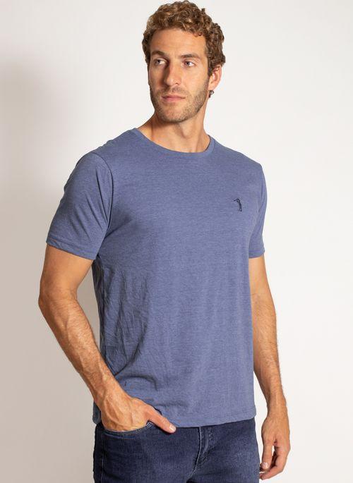 camiseta-aleatory-masculina-lisa-reativa-mescla-azul-modelo-4-