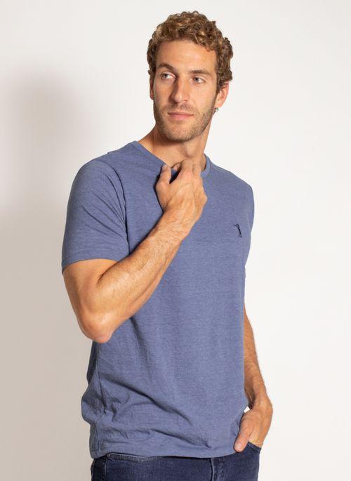 camiseta-aleatory-masculina-lisa-reativa-mescla-azul-modelo-5-