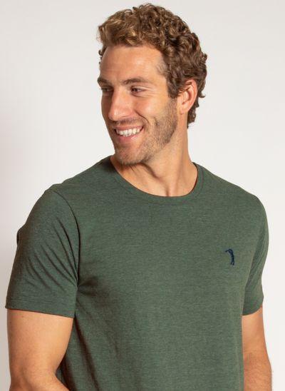 camiseta-aleatory-masculina-lisa-reativa-mescla-verde-modelo-1-
