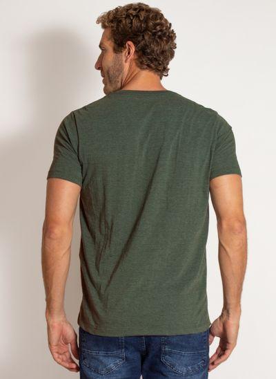 camiseta-aleatory-masculina-lisa-reativa-mescla-verde-modelo-2-