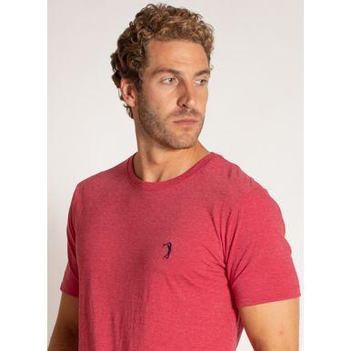 camiseta-aleatory-masculina-lisa-reativa-mescla-vermelha-modelo-1-