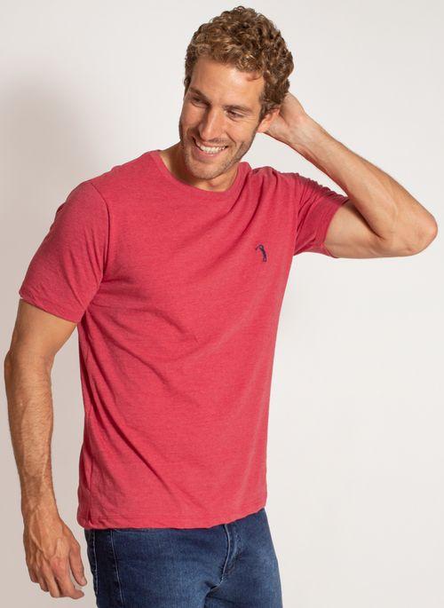 camiseta-aleatory-masculina-lisa-reativa-mescla-vermelha-modelo-5-