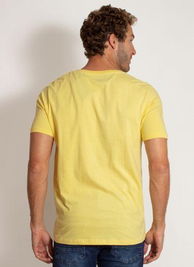 camiseta-aleatory-masculina-lisa-reativa-amarela-modelo-2-