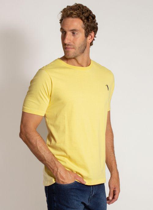camiseta-aleatory-masculina-lisa-reativa-amarela-modelo-4-