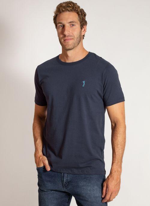 camiseta-aleatory-masculina-lisa-reativa-azul-modelo-9-