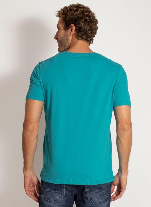 camiseta-aleatory-masculina-lisa-reativa-azul-modelo-2-