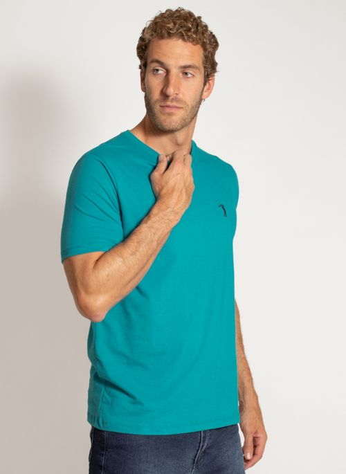 camiseta-aleatory-masculina-lisa-reativa-azul-modelo-5-