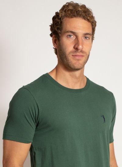 camiseta-aleatory-masculina-lisa-reativa-verde-modelo-6-