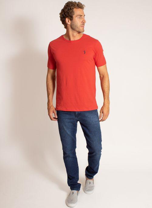 camiseta-aleatory-masculina-lisa-reativa-vermelha-modelo-3-