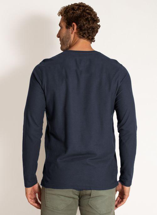 camiseta-aleatory-masculina-manga-longa-lisa-freedom-azul-marinho-modelo-2-