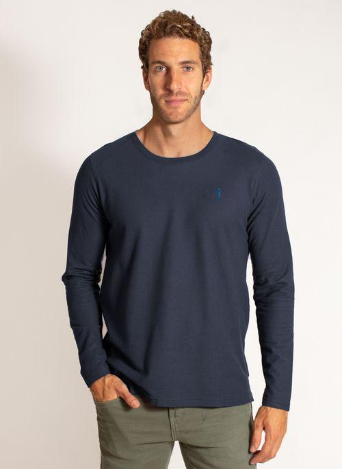 camiseta-aleatory-masculina-manga-longa-lisa-freedom-azul-marinho-modelo-4-