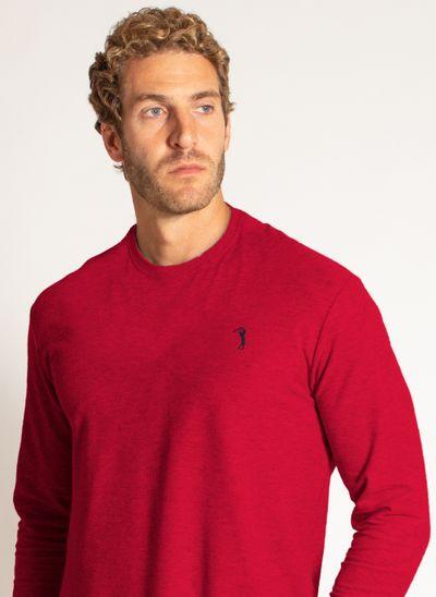 camiseta-aleatory-masculina-lisa-manga-longa-freedom-mescla-vermelha-modelo-1-
