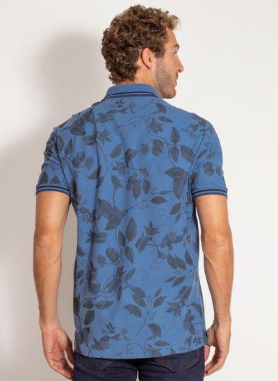 camisa-polo-aleatory-masculina-estampada-harmony-azul-modelo-2-
