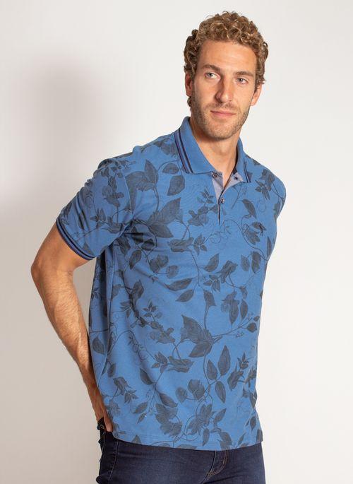 camisa-polo-aleatory-masculina-estampada-harmony-azul-modelo-3-